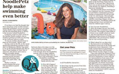 NoodlePetz help make swimming even better